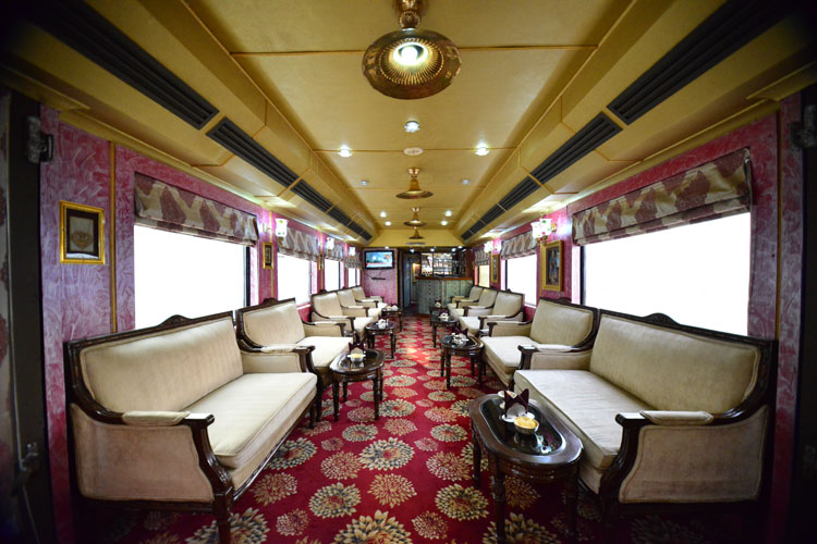 Get Carried Away by the Palace on Wheels