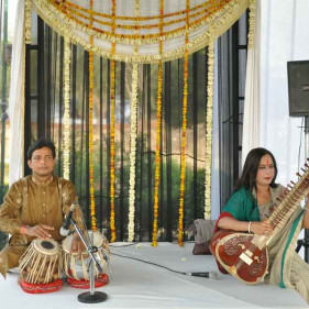 Performance at Taj Khema